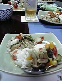 オクサマの手料理