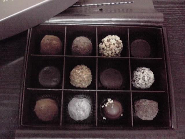 チョコの甘さは